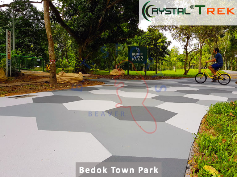 Bedok Town Park- Cycling Path