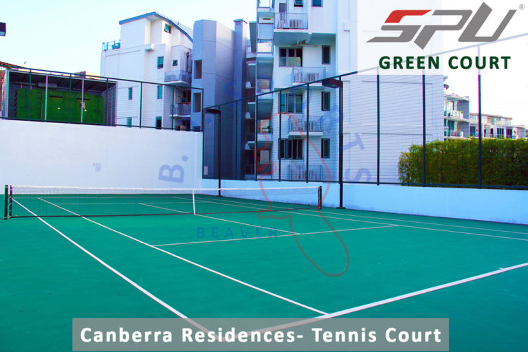 Canberra Residences- Tennis Court