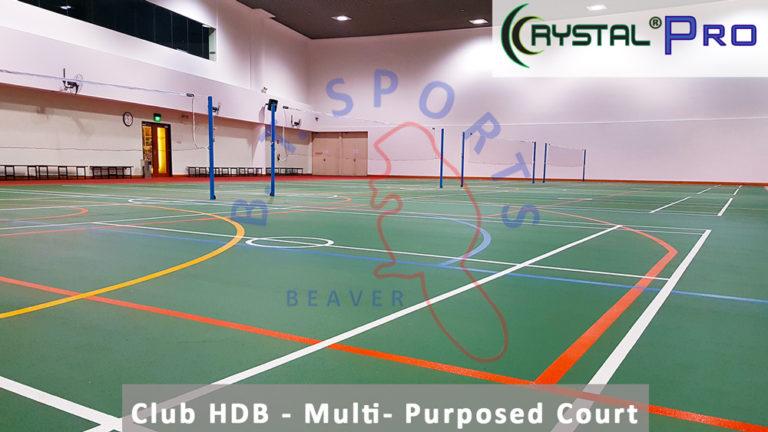 Club HDB- Indoor Multi- Purposed Court