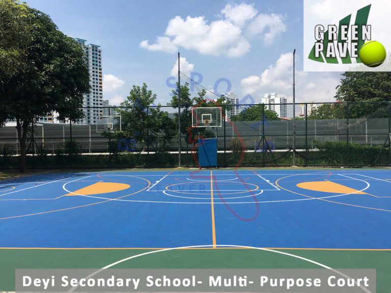 Deyi Secondary School- Multi- Purposed Court