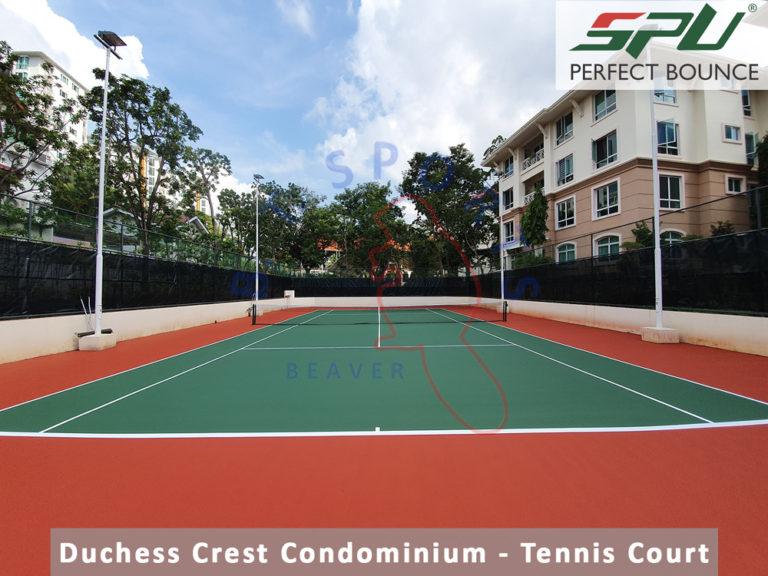 Duchess Crest Condominium- Tennis Court