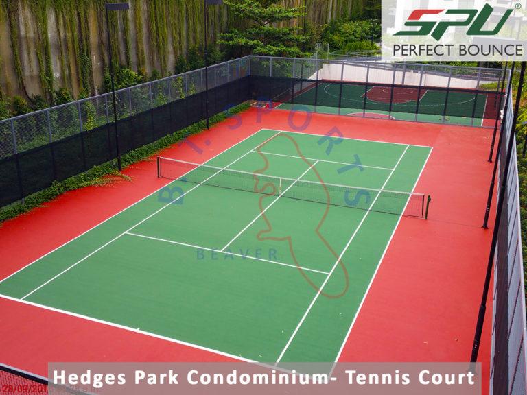 Hedges Park Condominium- Tennis Court