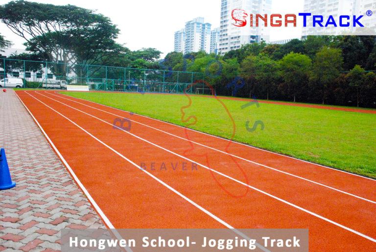 Hongwen School- Running Track