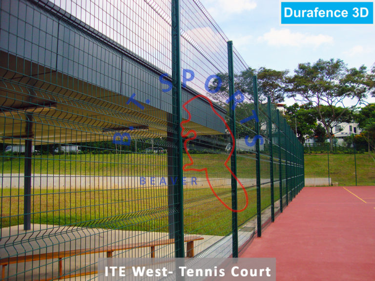 ITE West-Tennis Court Fence