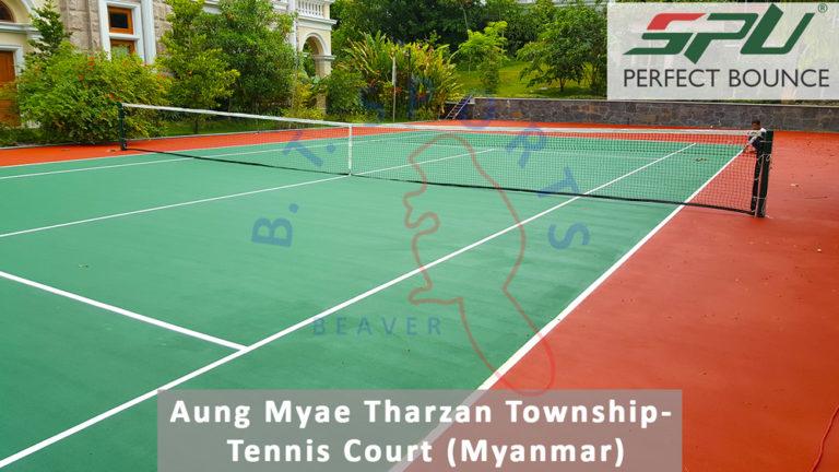 Myanmar- Tennis Court