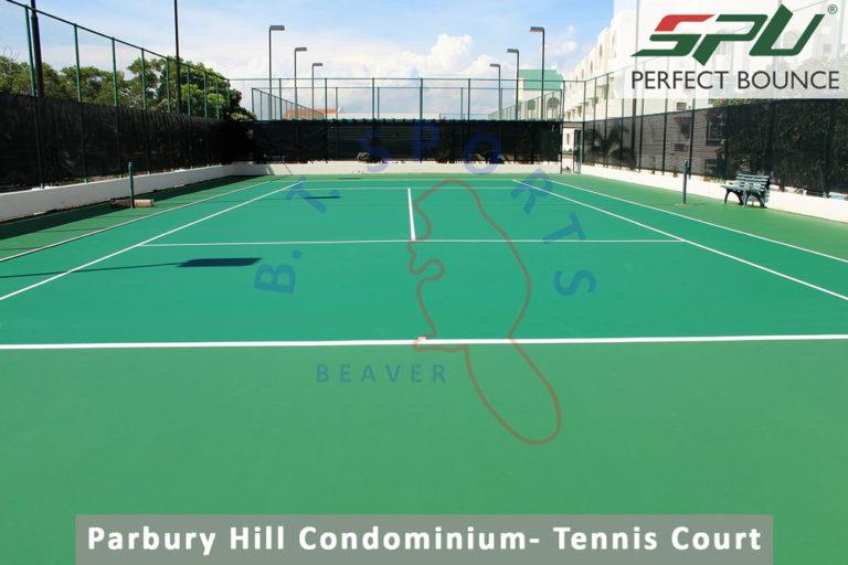 Parbury Hill Condominium- Tennis Court