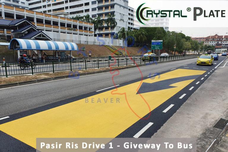 Pasir Ris Drive 1- Giveway To Bus