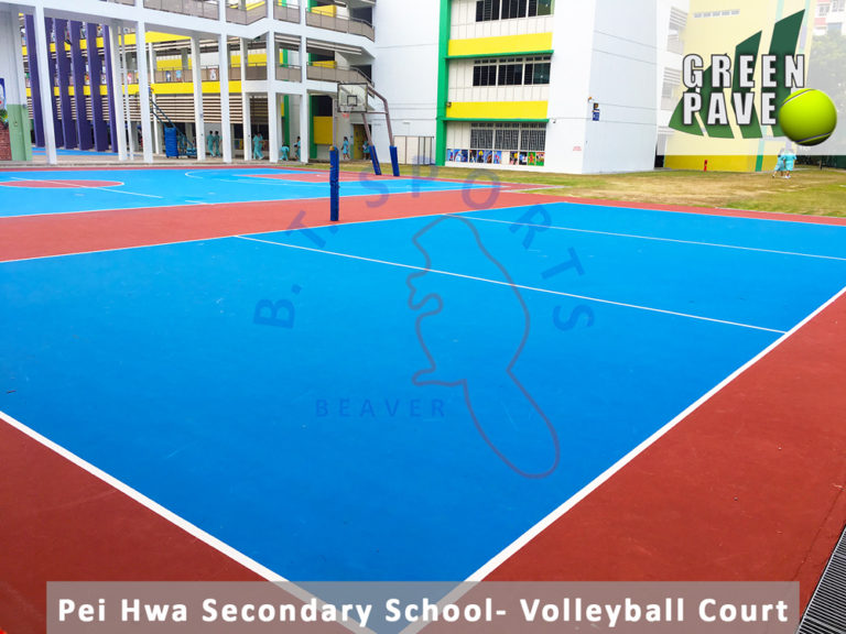Pei Hwa Secondary School- Games Court