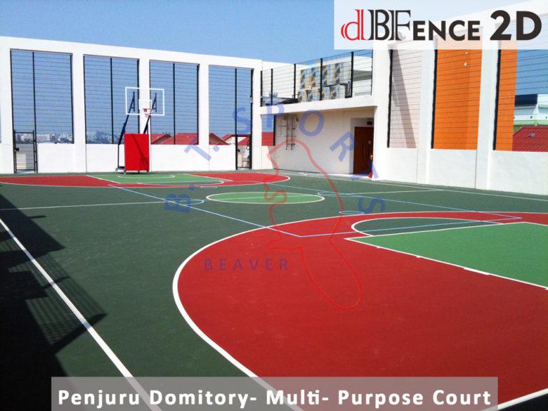 Penjuru Domitory- Multi-Purpose Court