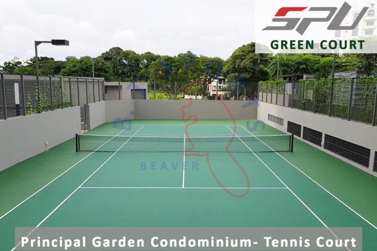 Principal Garden Condo- Tennis Court