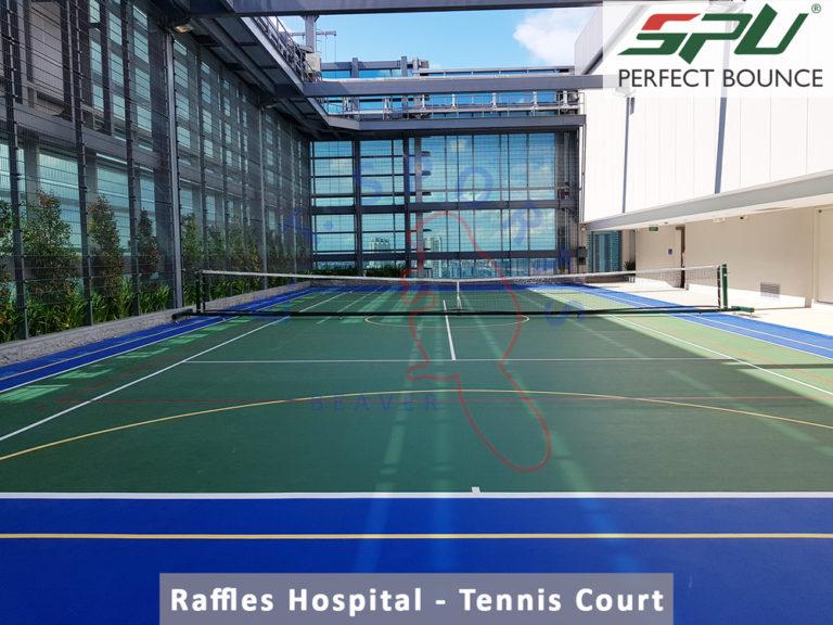 Raffles Hospital- Tennis Court