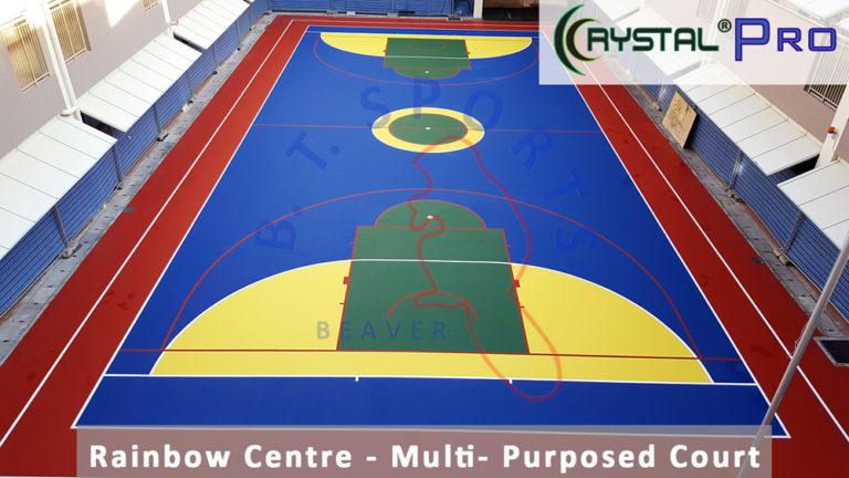 Rainbow Centre- Basketball Court