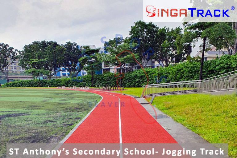 ST Anthony's Secondary School- Running Track