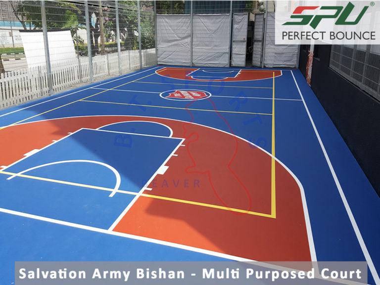 Salvation Army- Multi-Purposed Court