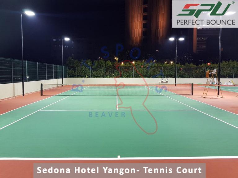 Sedona Hotel Yangon- Tennis Court