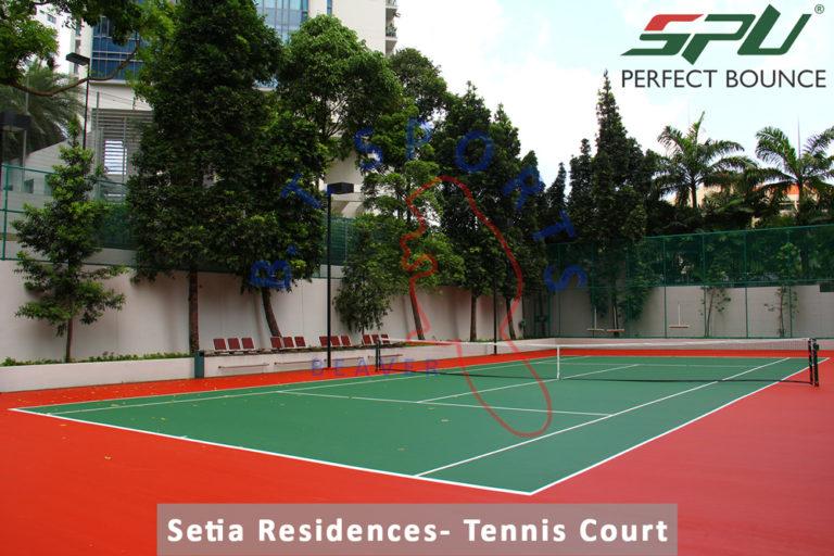 Setia Residences- Tennis Court