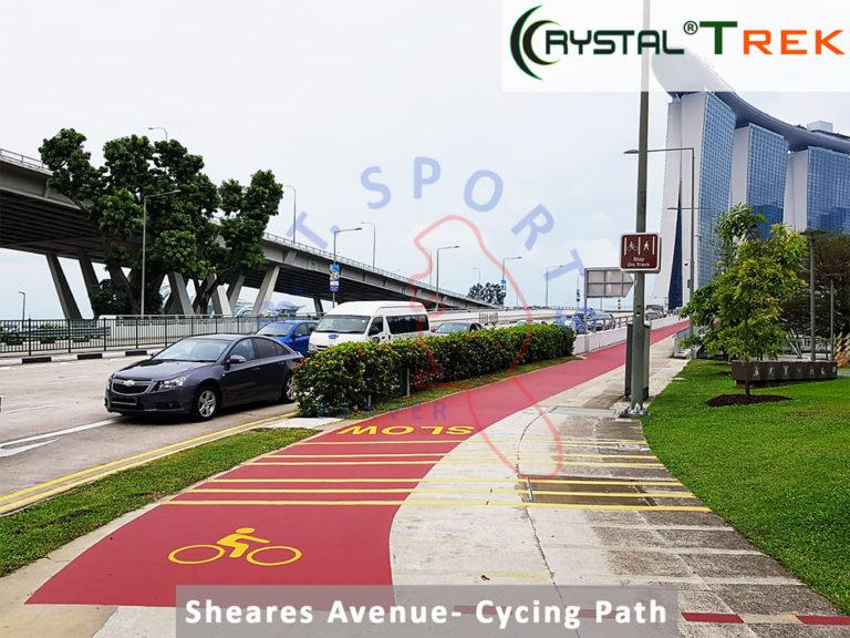Sheares Avenue- Cycling Path