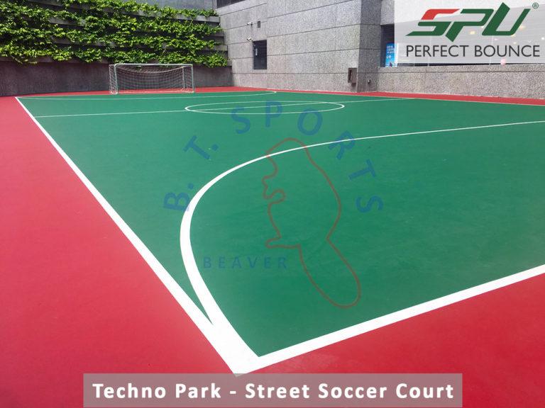 Techno Park- Street Soccer Court