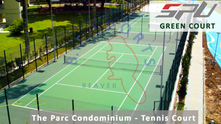 The Parc Condo- Tennis Court