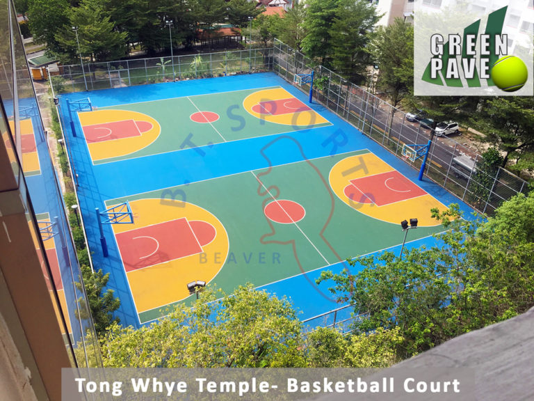 Tong Whye Temple- Basketballl Court