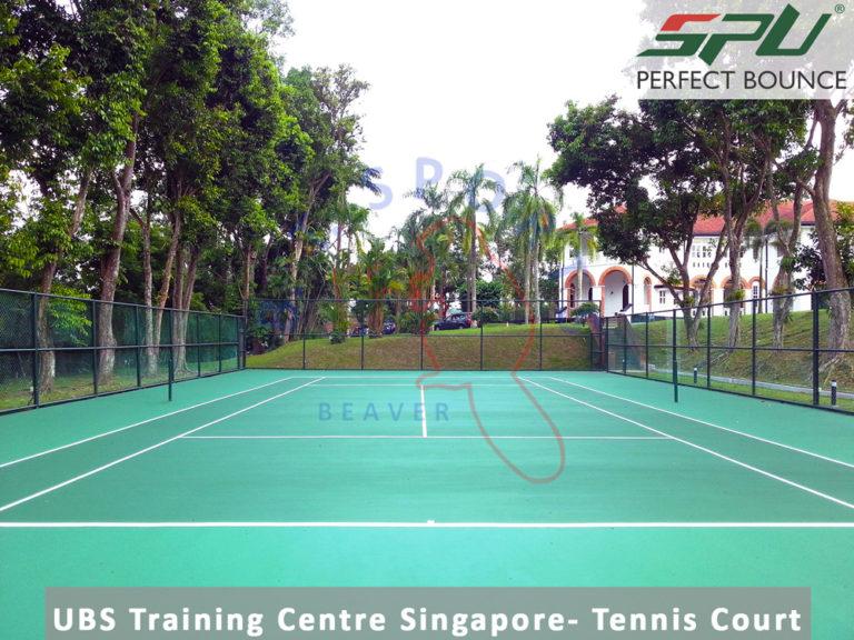 UBS Training Centre Smingapore- Tennis Court